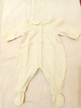 Sleepsuit gap 0-3month