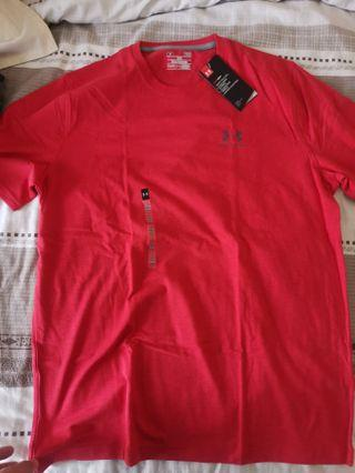 Underarmour Running Shirt Red - NEW size L