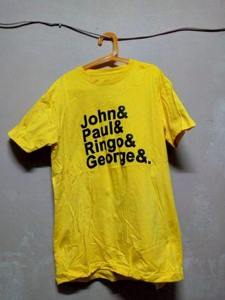 T-shirt Traffic Room (The Beatles) Yellow
