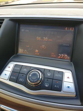 Nissan Teana J32 2.0 2.5 screen for sale