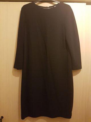 Dress Uniqlo Dark Blue