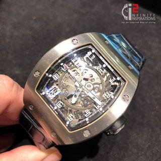 Richard Mille RM010ti LNIB– Preloved Complete Set with  Box and Papers