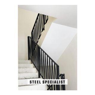 Staircase Railings for Mezzanine