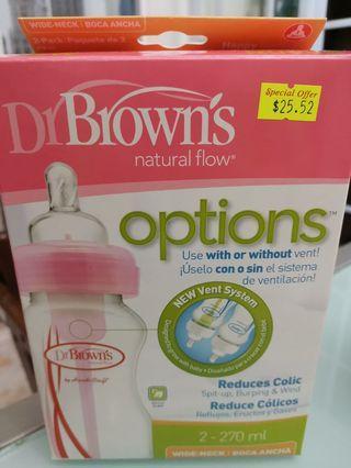Dr Brown's Natural flow milk bottle