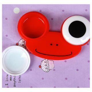 NEW Cartoon Animals Lovely Holder Design Big Eyes Contact Lens Box Case
