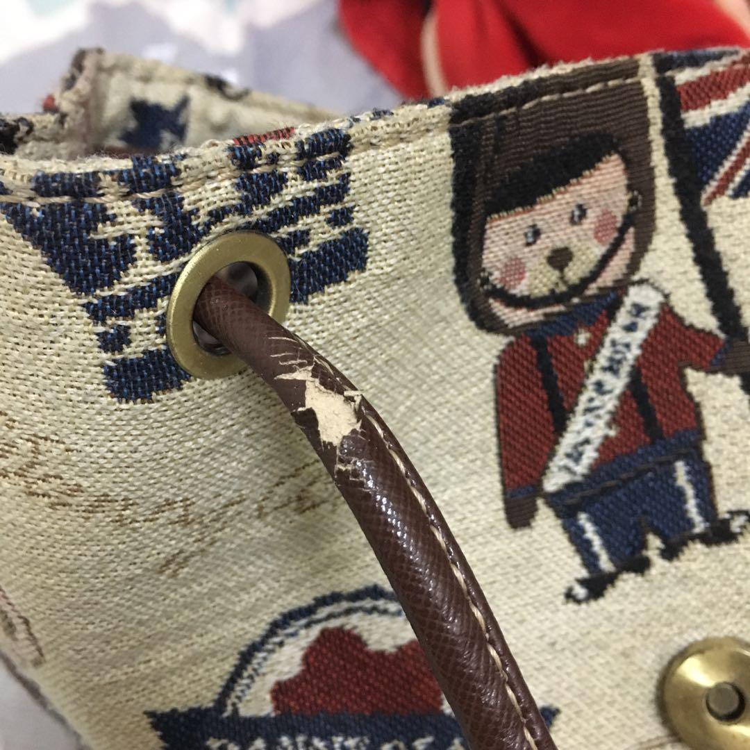 可愛小熊後背包