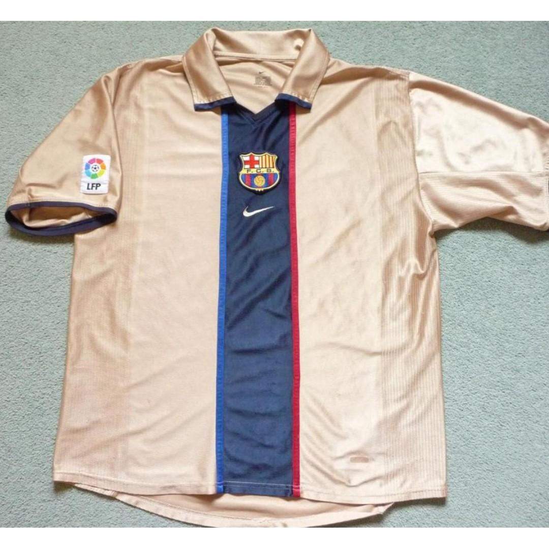 ⚽>> Authentic Jersey-FC Barcelona Team from the season 2002/2003