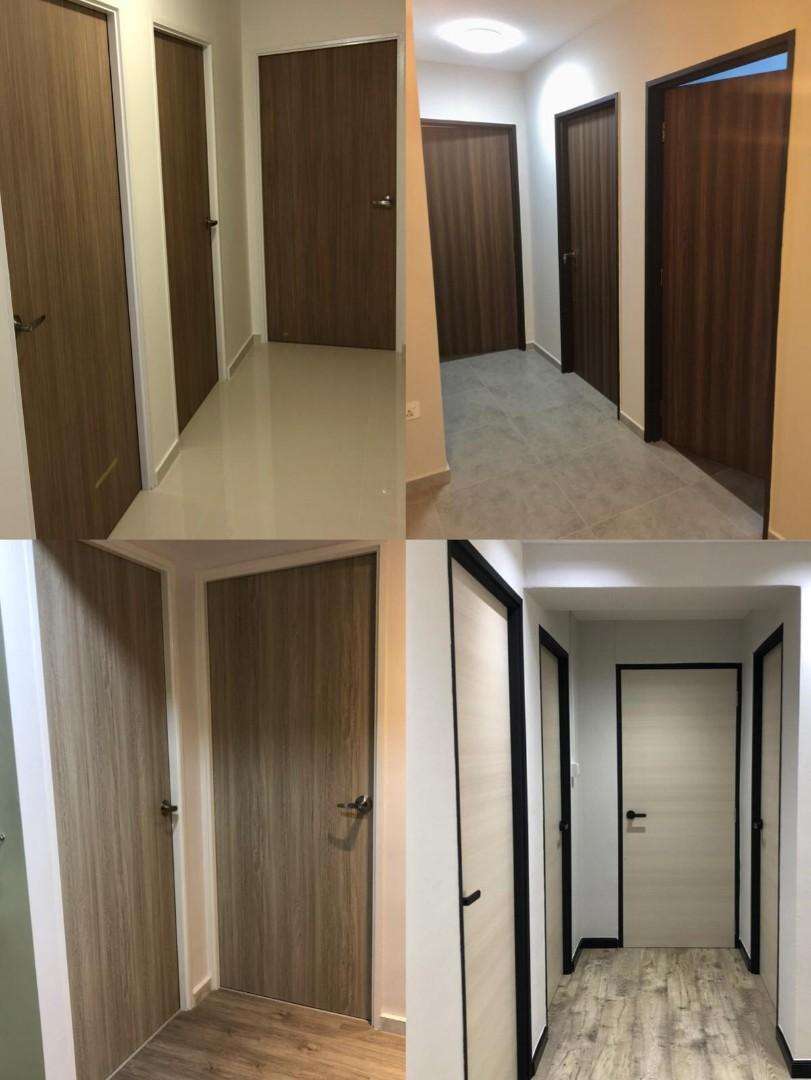 ⚠️ SOLID LAMINATED BEDROOM DOORS