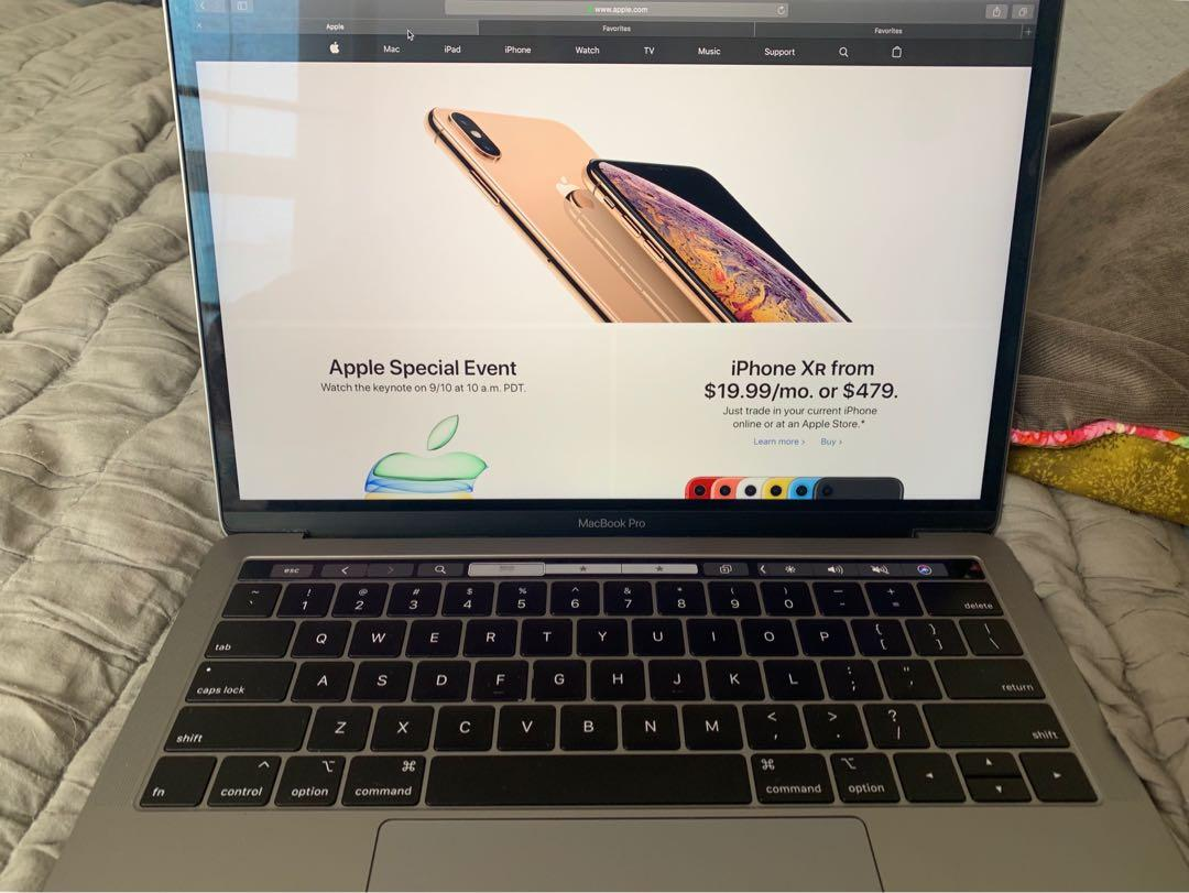 Apple MacBook Pro 13-inch with TouchBar and Touch ID