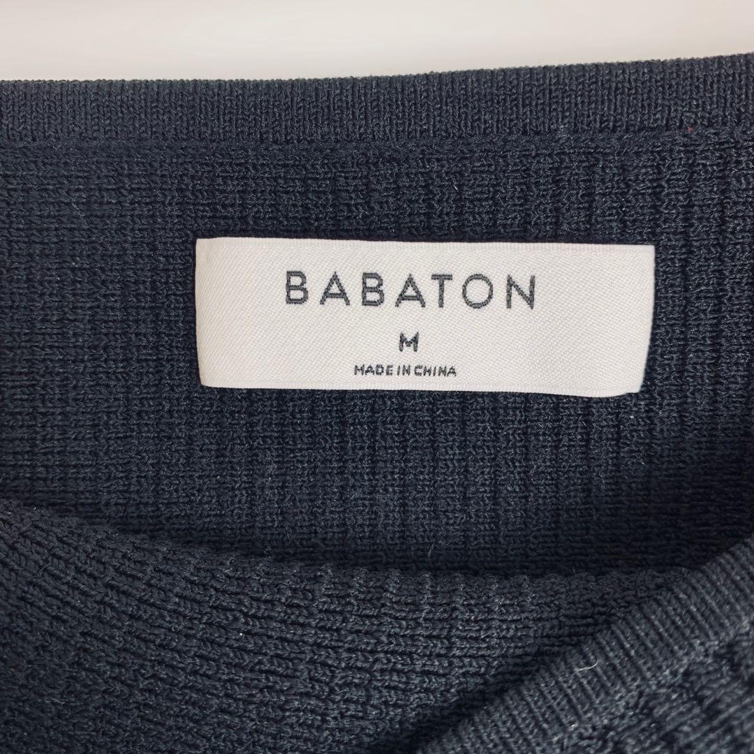 Aritzia Babaton Essemba Knit Tube Top in Black Medium
