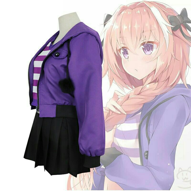 Astolfo Cosplay Costume Trap Casuals Set [SIZE S ONLY]