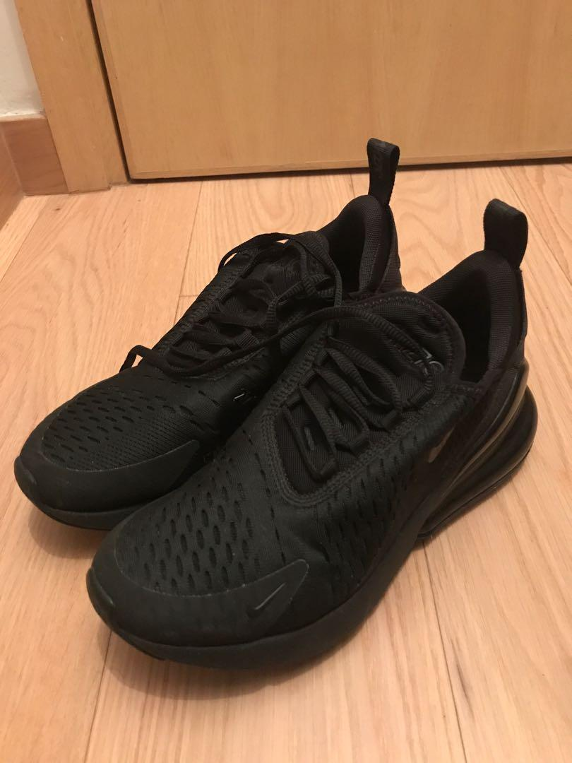 Authentic Nike air max 270 all black