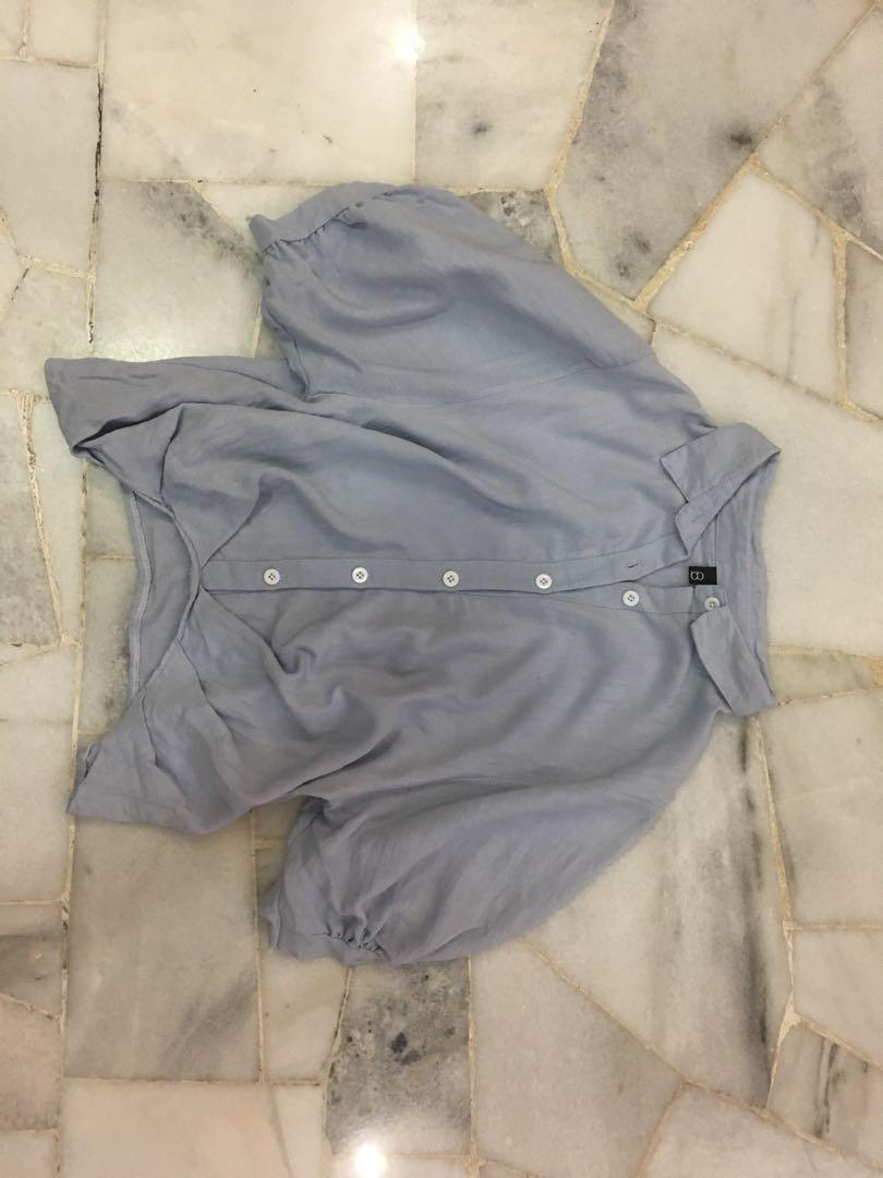 Blouse Qq Outlet Women S Fashion Clothes Tops On Carousell