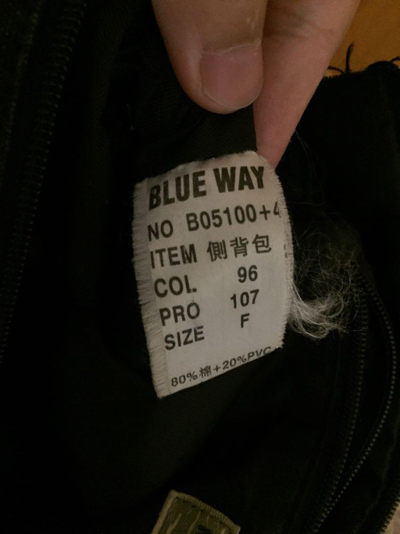 BlueWay 斜背包