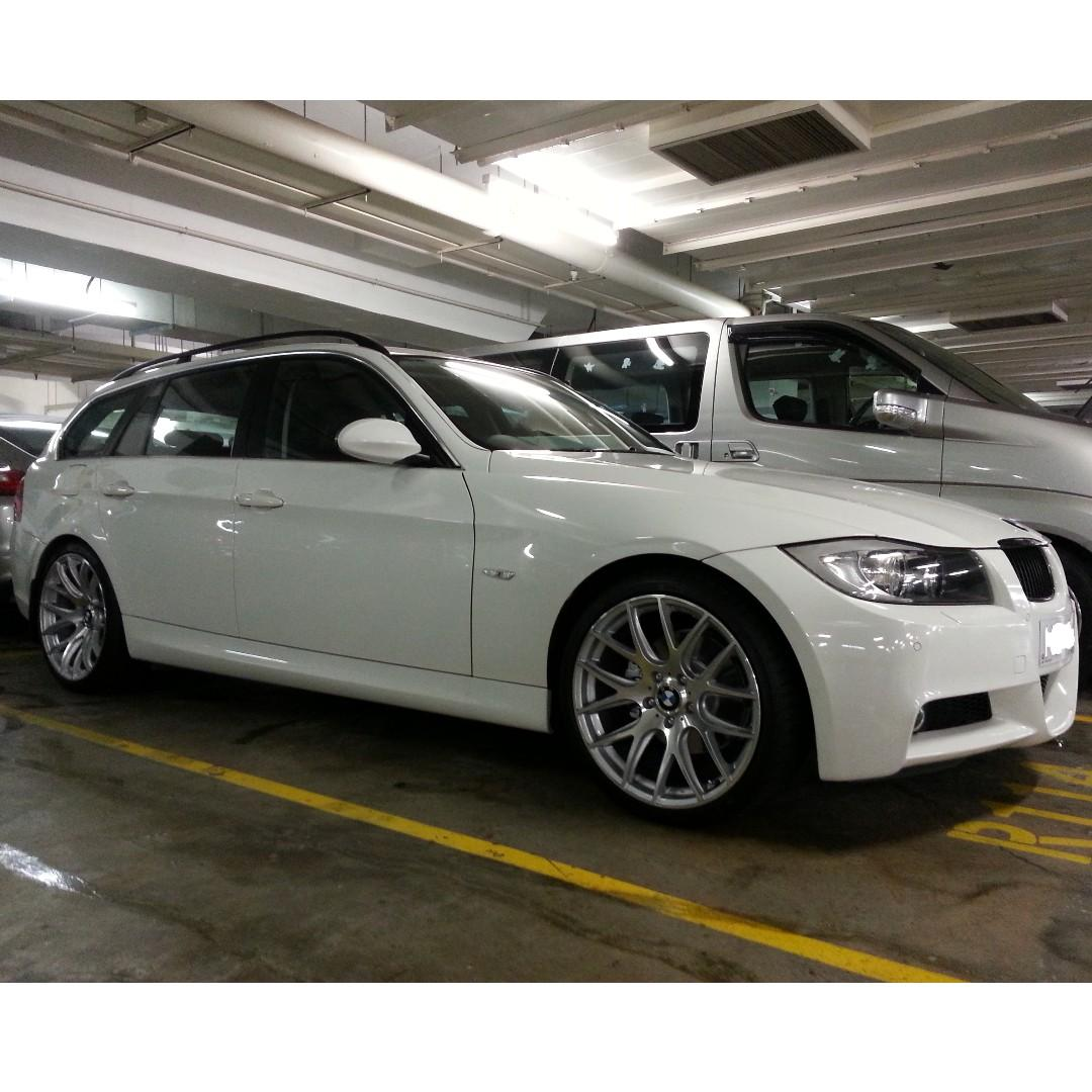 罕有白色BMW 323I TOURING 2007 E91 E90 旅行車 Wagon M package 行貨 寶馬