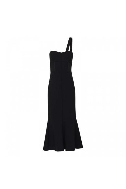 BNWT CAMILLA AND MARC BLACK CELIA DRESS - SIZE 8 AU (RRP $948)