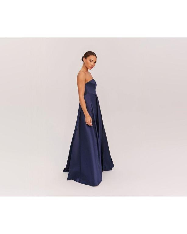 BNWT FAME & PARTNERS NAVY SARAH DRESS - SIZE 10 AU/6 US (RRP $335)
