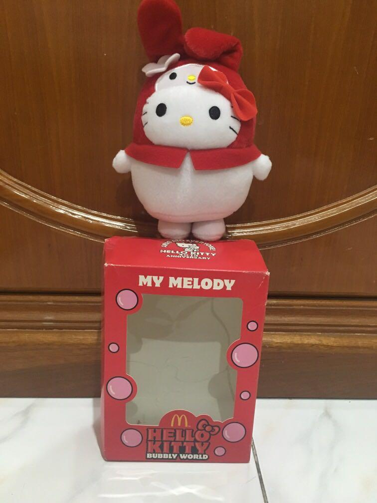 Boneka Hello Kitty My Melody Mcdonalds