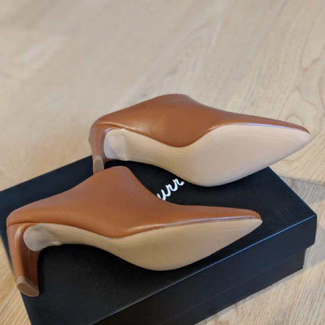 Brand new - Spurr mules - size 6 (fits 6.5 also)