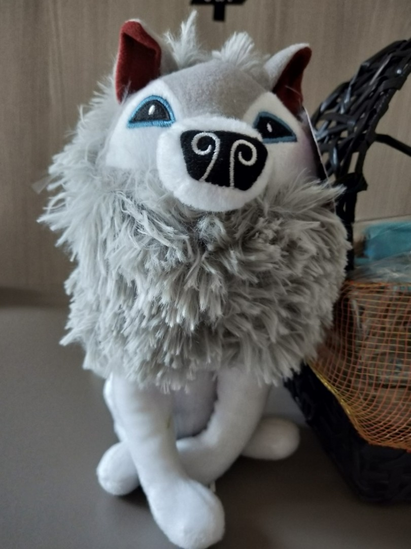 BRAND NEW ANIMAL JAM WOLF, Toys & Games, Stuffed Toys on ...