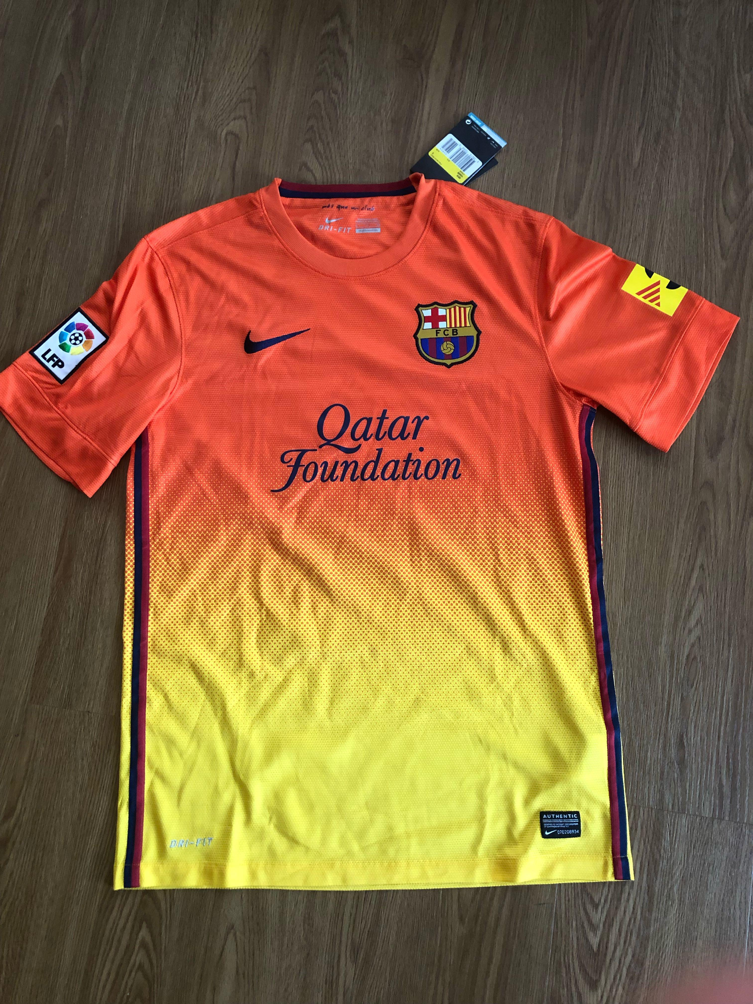 new style 1f5fb ab65d BRAND NEW] Authentic Nike FC Barcelona 12/13 Away Jersey ...