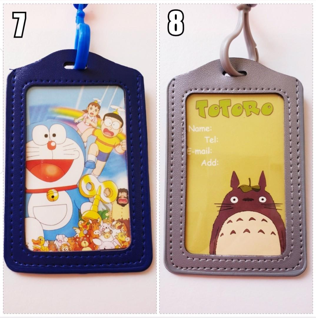 Children Day Gift, Cute Cartoon Lanyard, Card Holder / ID Holder / Ez-Link card Holder / Name Tag, Stationery, Birthday, Christmas, Party, Gifts, Goodie Bag, Hello Kitty, Totoro, Doraemon, Melody, Rilakkuma, Minnie, Winnie the Pooh, Paul Frank