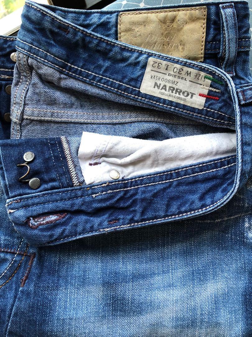 Diesel Men Narrot Jeans 34 inch waist