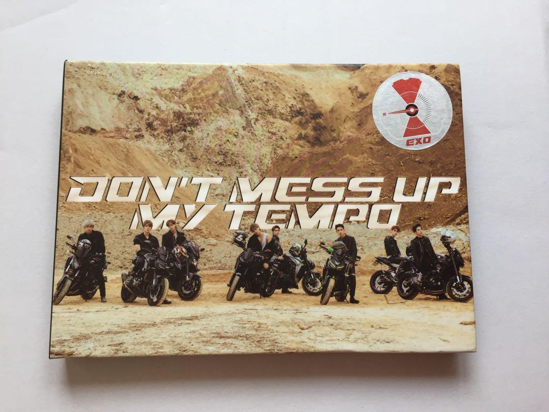 EXO Don't Mess Up My Tempo (DMUMT) Moderato Ver + Chanyeol Postcard