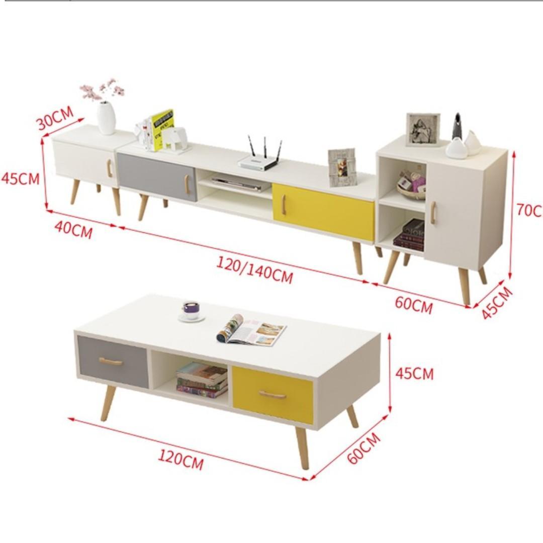 Eames Lounge TV cabinet Coffee Table 電視櫃 茶几 TVCA