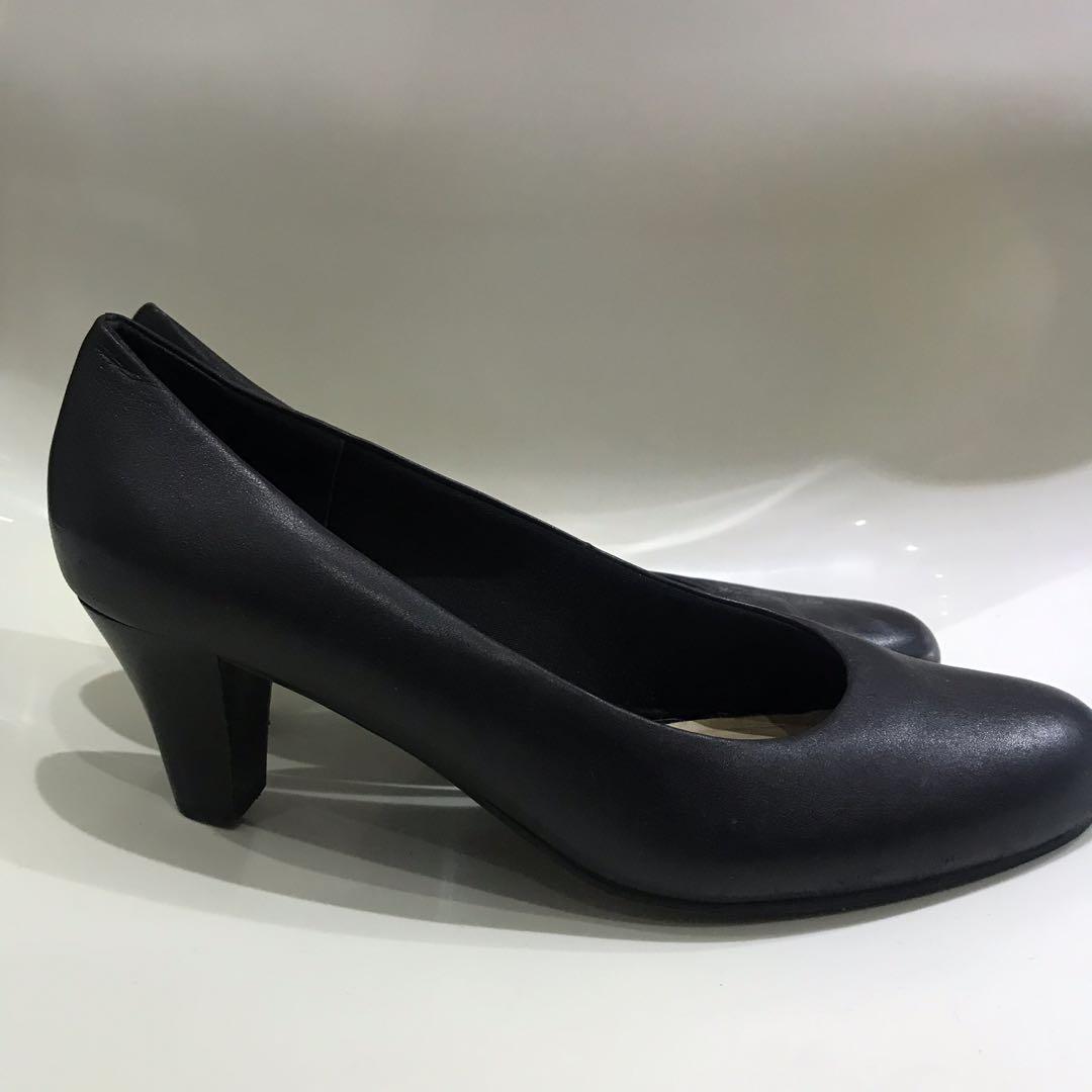 Easy Steps 'Linda Black Pump' court heels - AU8/8.5