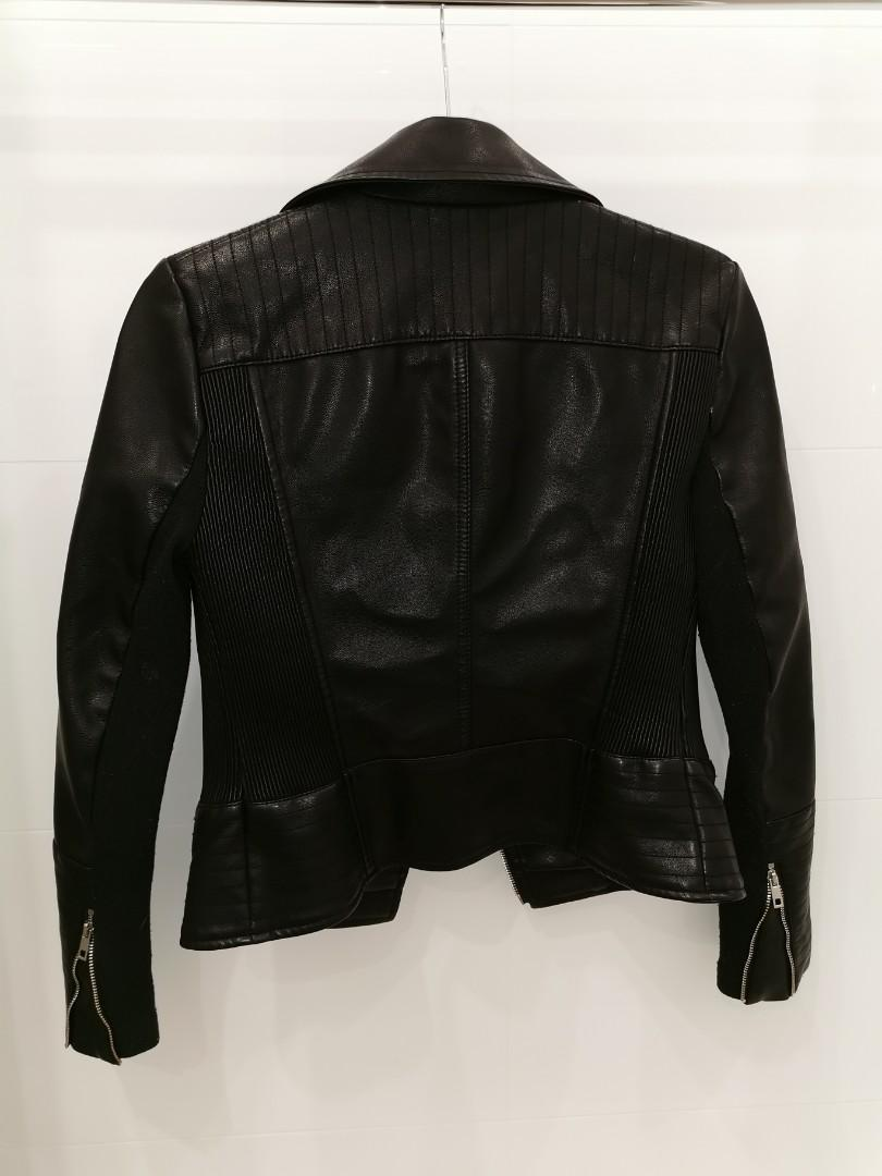 Forever New faux leather jacket #swapau