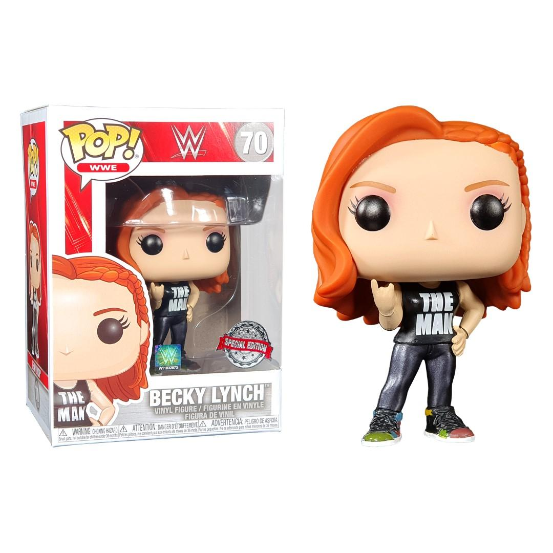 VINYL FIGURE Preorder WWE BECKY LYNCH POP