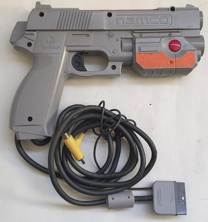 Genuine Namco G-Con Light Gun Controller For PS1 PS2 NPC-103 In Good Condition
