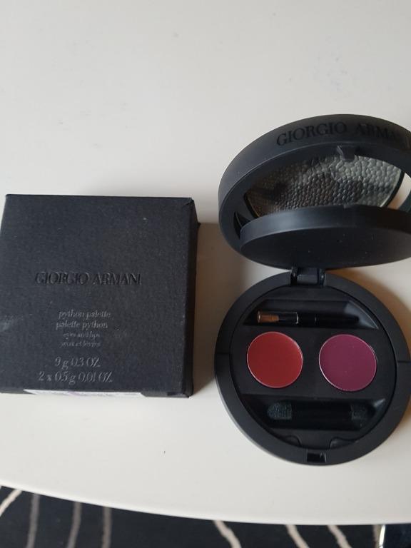 Giorgio Armani Python Palette (Eye & Lip) - 9g. BNIB