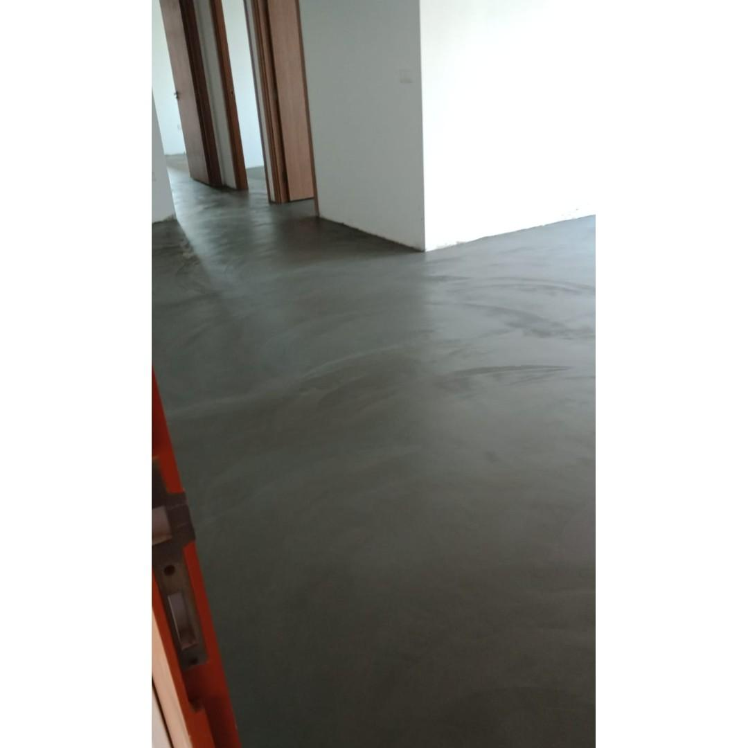 Cement Screeding And Tiling