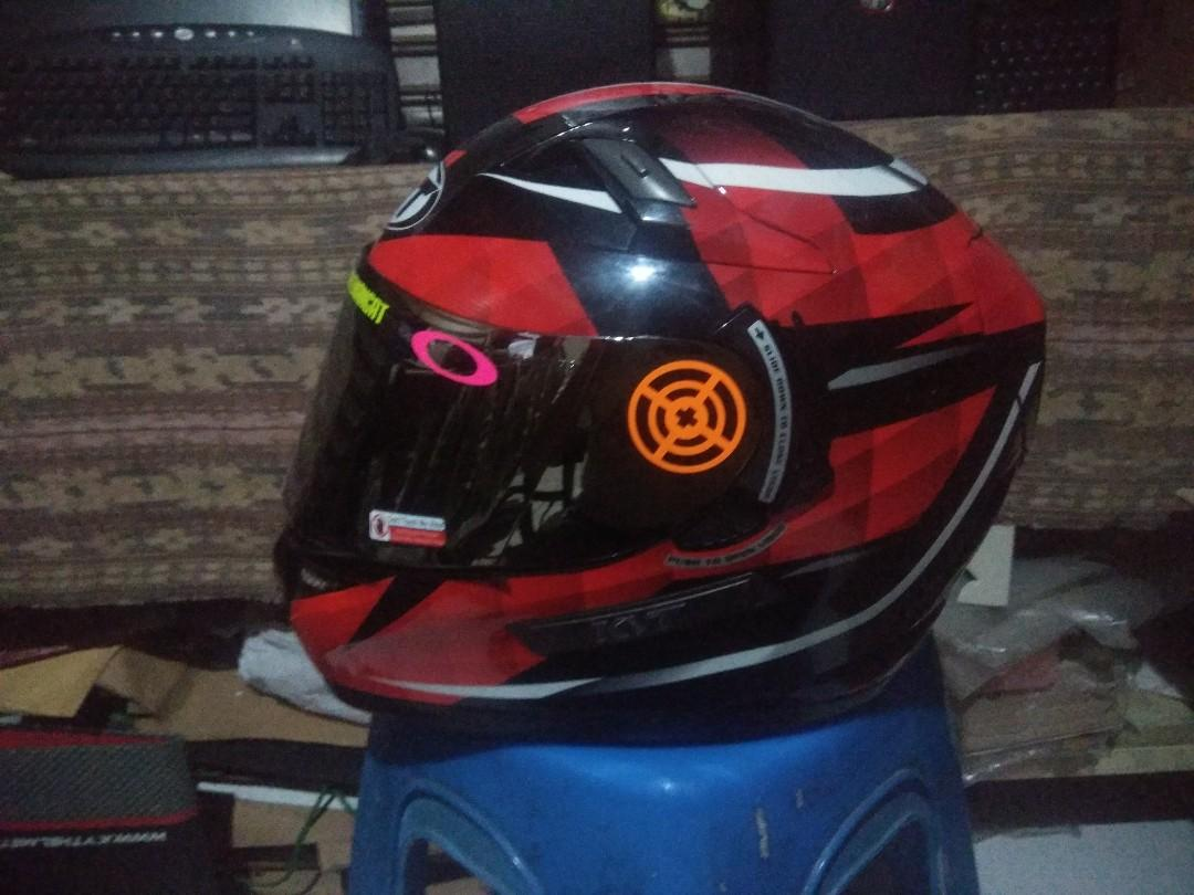 Helm KYT K2Rider Red Diamond