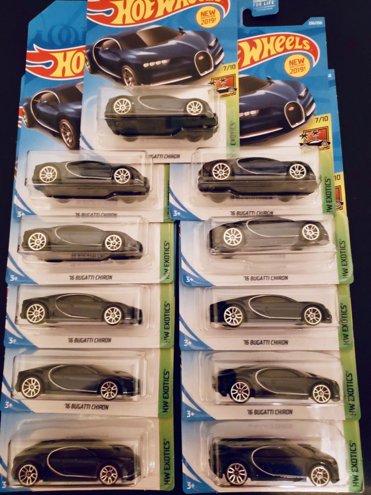 Hot Wheels 2019 Bugatti Chiron Toys Games Bricks Figurines On Carousell