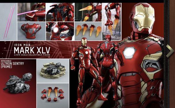 hottoys Ironman mark 45  iron man mk45