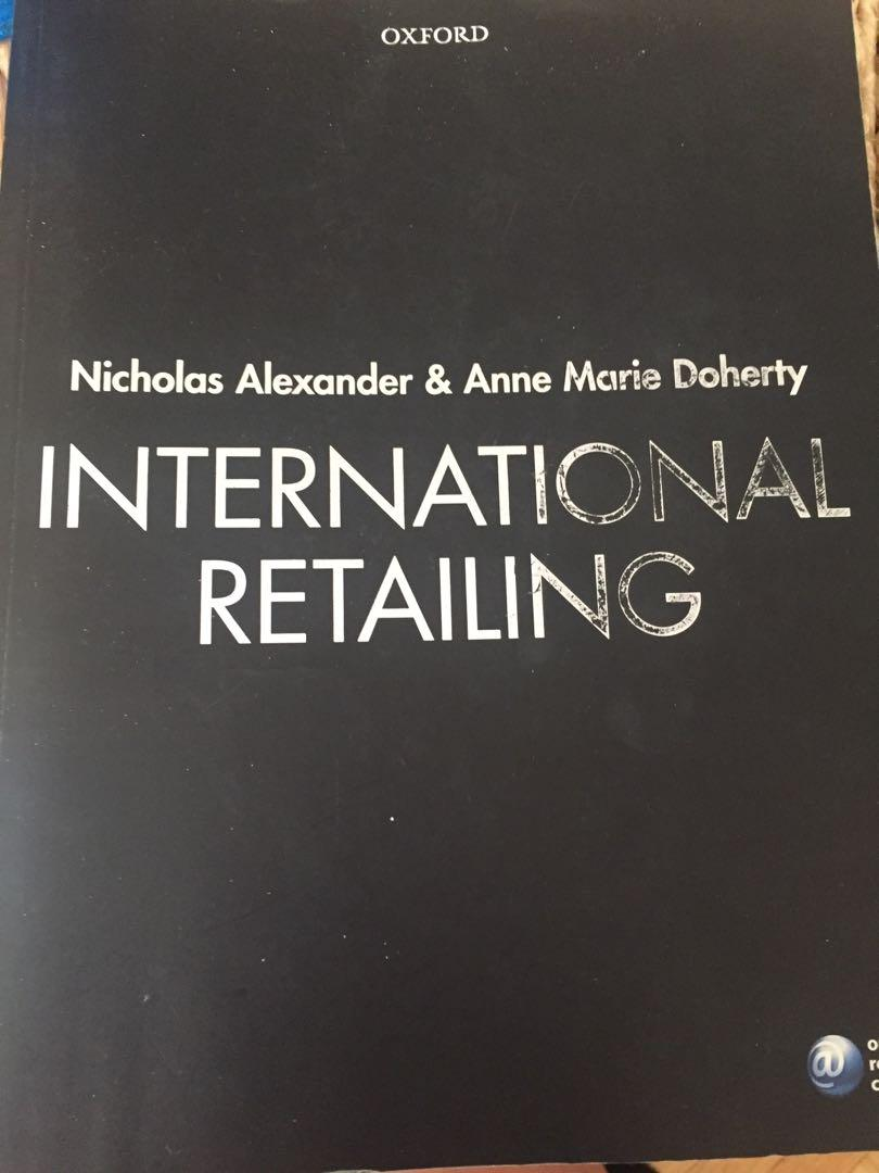 International Retailing by Alexander and Doherty