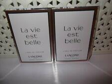 LANCOME La Vie Est Belle Spray Sample Perfume Travel Vial 1.5 ml x 4.
