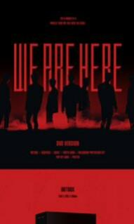[LOOSE ITEMS & PRE-ORDER] 2019 MONSTA X WORLD TOUR WE ARE HERE IN SEOUL DVD/KIT VIDEO