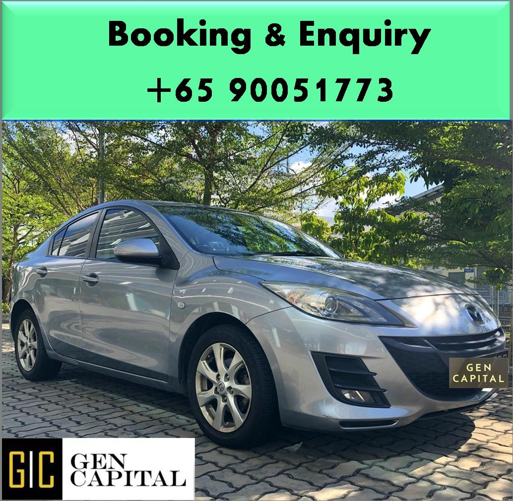 Mazda 3 1.6A - Best rates, full servicing provided!