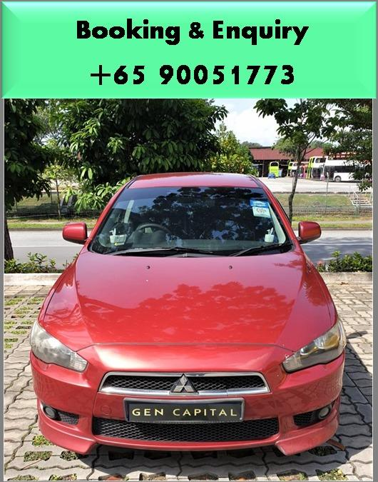 Mitsubishi Lancer EX 1.5A - Best rates, full servicing provided!