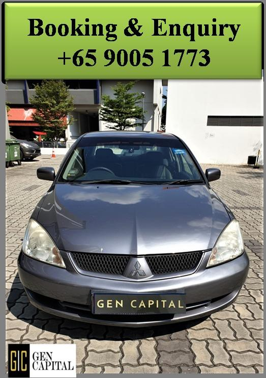Mitsubishi Lancer GLX 1.6A - Best rates, full servicing provided!