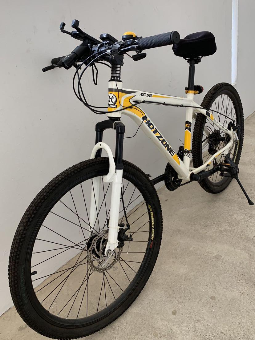 "Mountain Bike 26"" wheel with Shimano Gear Shift"