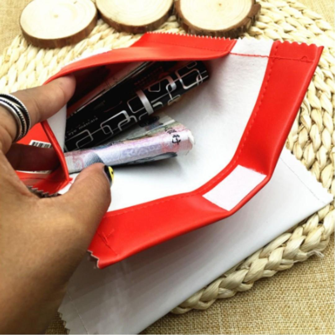 NEW Creative Coin Box Storage Holder Pencil Case Bag Wrapper Chips