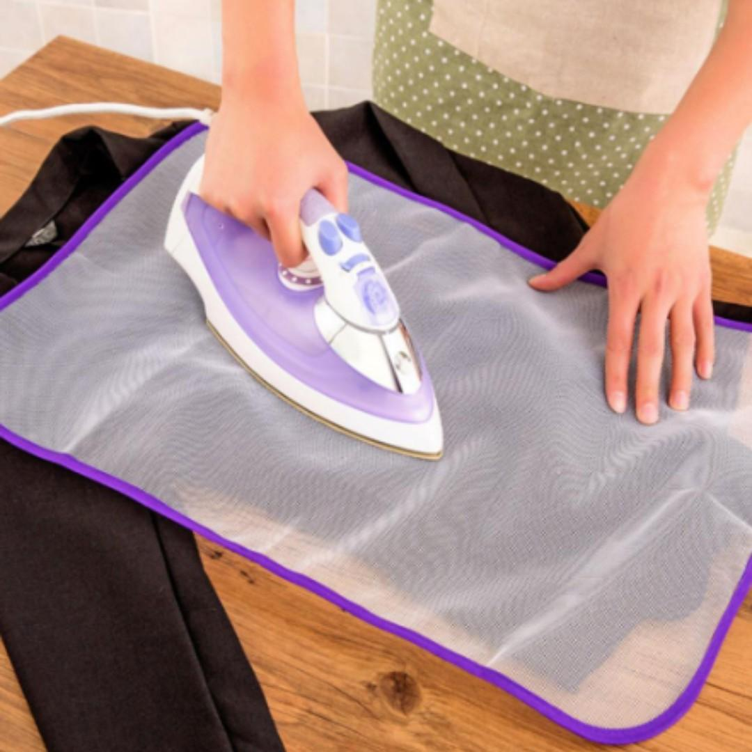 NEW Protective Cloth Garment Mesh Protect Delicate Clothes Ironing