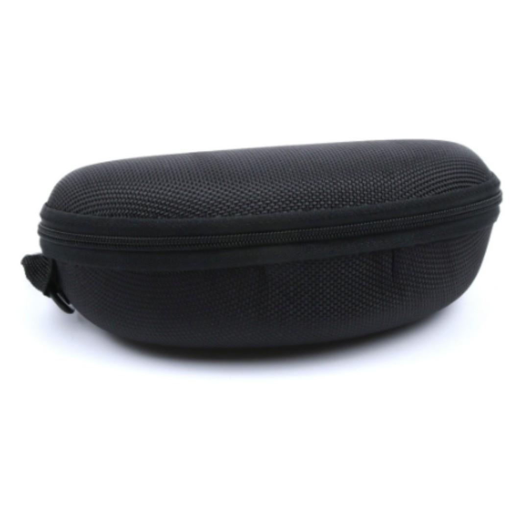 NEW Zipper Protector Box Hard Case Sunglasses Glasses Shell Portable