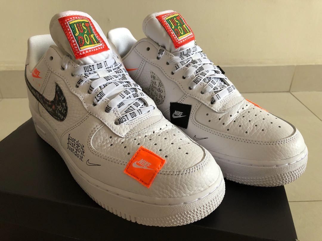 Nike Air Force 1 ( JDI ) Just Do It, Men's Fashion, Footwear