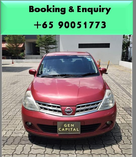 Nissan Latio  - Best rates, full servicing provided!
